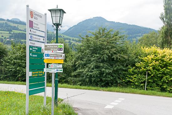 Talloze fiets- en wandelpaden in de omgeving