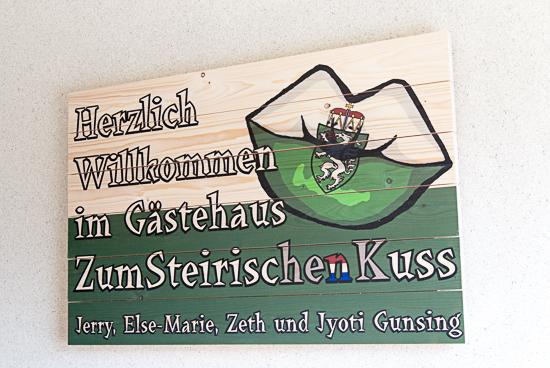 Hartelijk welkom in het Gästehaus Zum Steirischen Kuss!