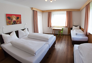Large and comfortable rooms