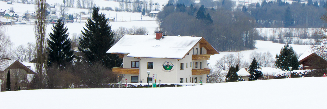 Idyllic in winter