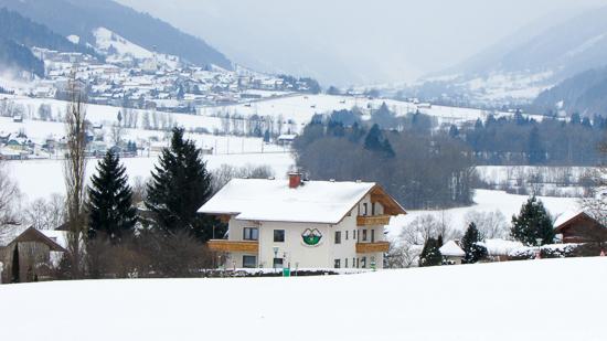 Vrij uitzicht op de Dachstein